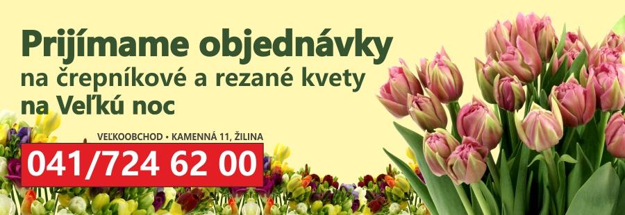 1 Objednávky kvetov na Veľkú noc