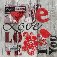 200040 I LOVE YOU 33X33 - FLORASYSTEM.sk